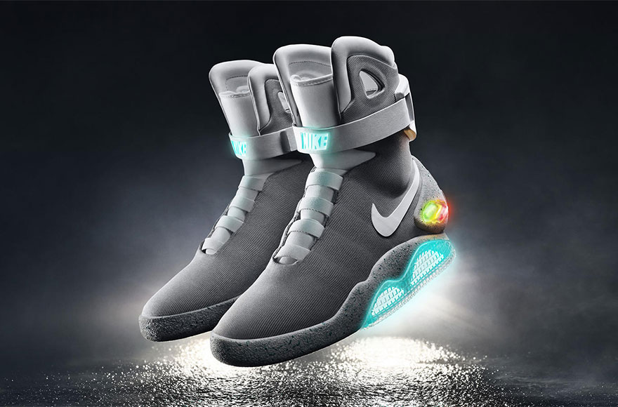 54e1849756a8 Nike Air Mags Back To The Future