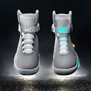 Finally, Back to the Future's Self-Lacing Nikes Are A Reality