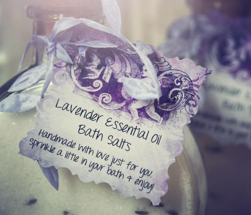 Make Your Own Luxurious Essential Oil Bath Salts