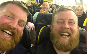 Passenger Seated On Plane Next To Stranger Who Looks Exactly Like Him