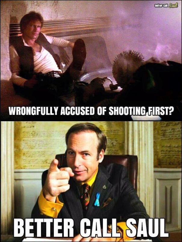 Breaking Bad & Star Wars Mashup
