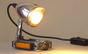I Reuse Old Bicycle Parts To Make Unique Lamps