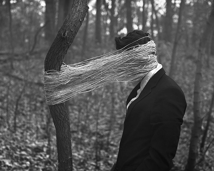 Bizarre Self-Portraits By Ben Zank