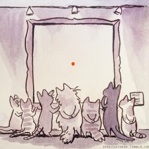 Meanwhile At The Cat Museum