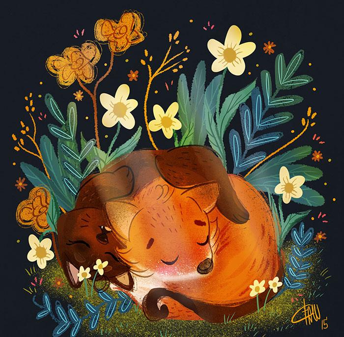 The Adventures Of Mr. Fox & Kitty Cat