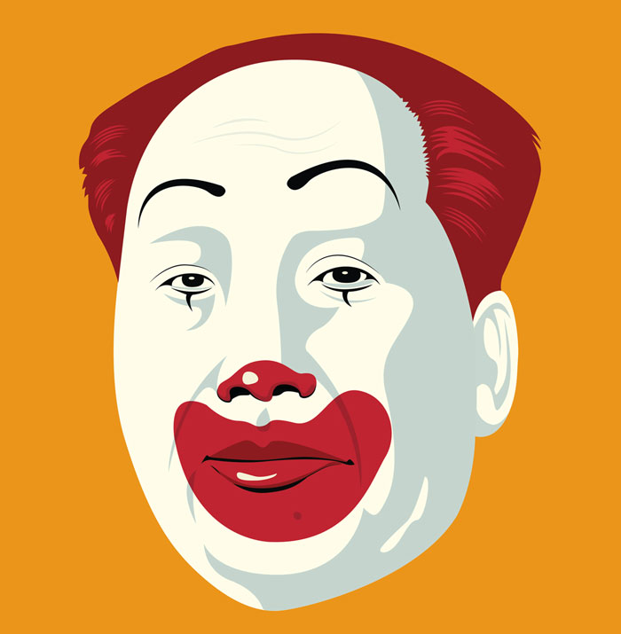 Dictators As Fast Food Mascots Show That We Are Still Free To Eat Well