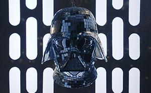I Made A Darth Vader Disco Ball