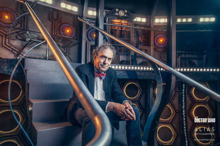 I Took Portraits Of Key Crewmembers Behind The Doctor Who Show