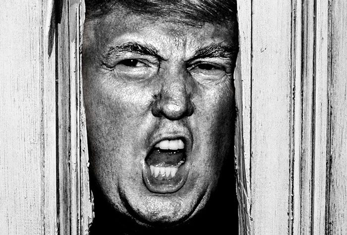 Donald Trump Stars In Classic Horror Movie Scenes