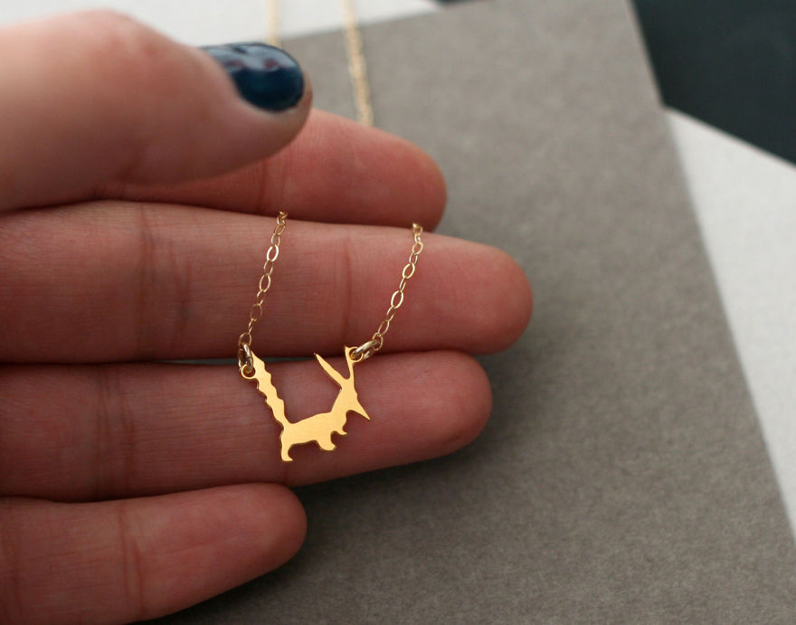 Little Prince Fox Necklace