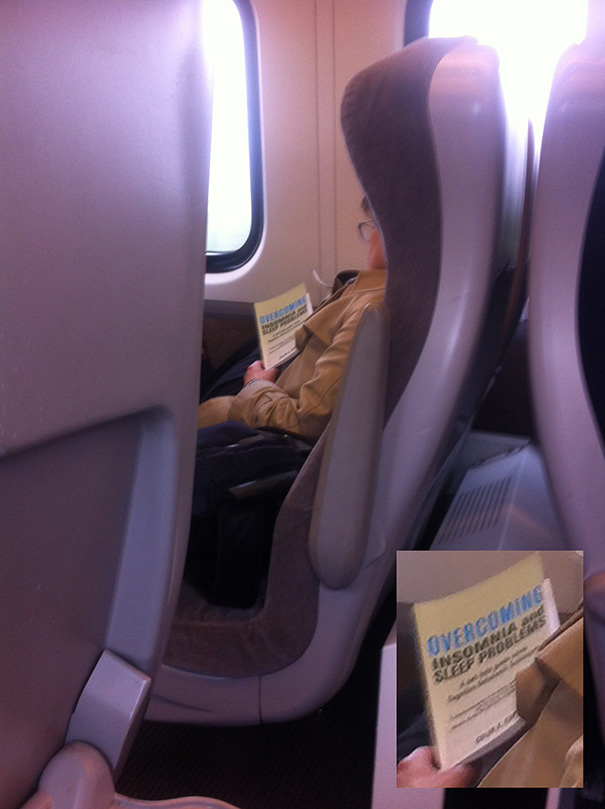 Saw This Woman Asleep On The Train Today