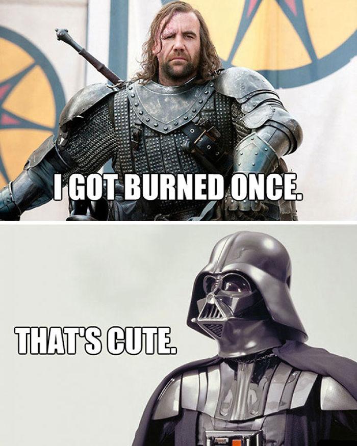 You Had It Coming, Darth…