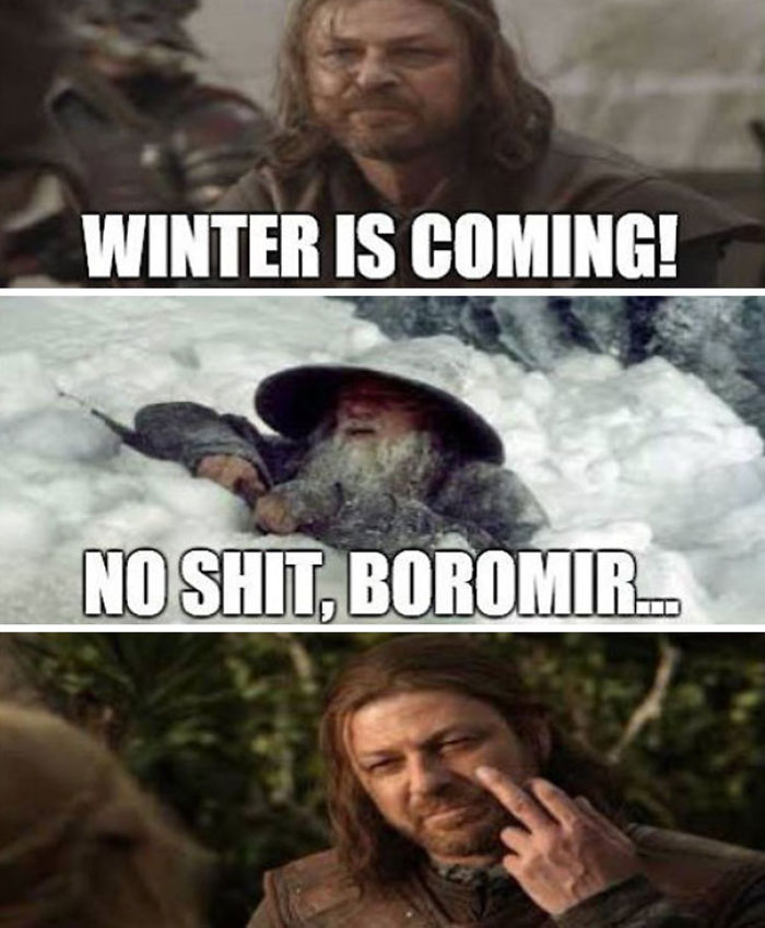 Game Of Thrones & Lord Of The Rings Mashup