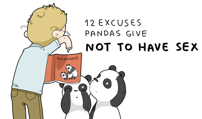 12 Excuses Pandas Give Not To Have Sex