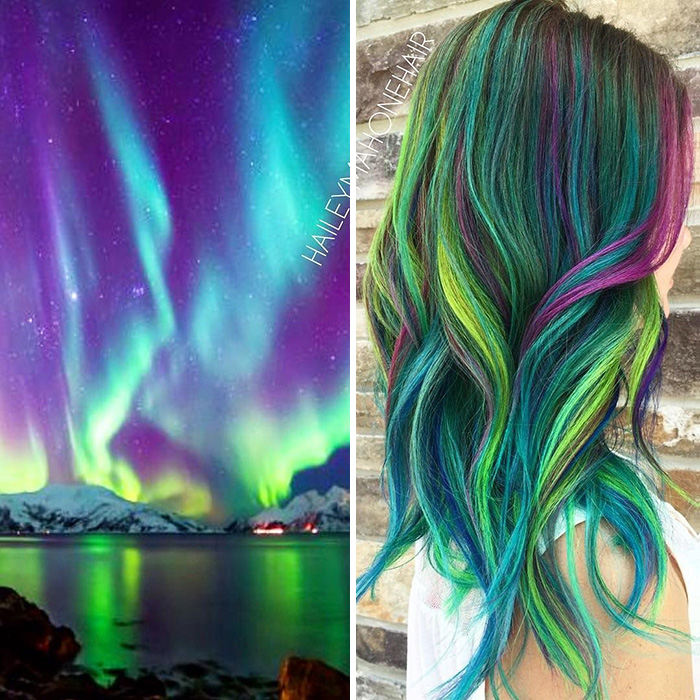 Galaxy Hair Color Dye