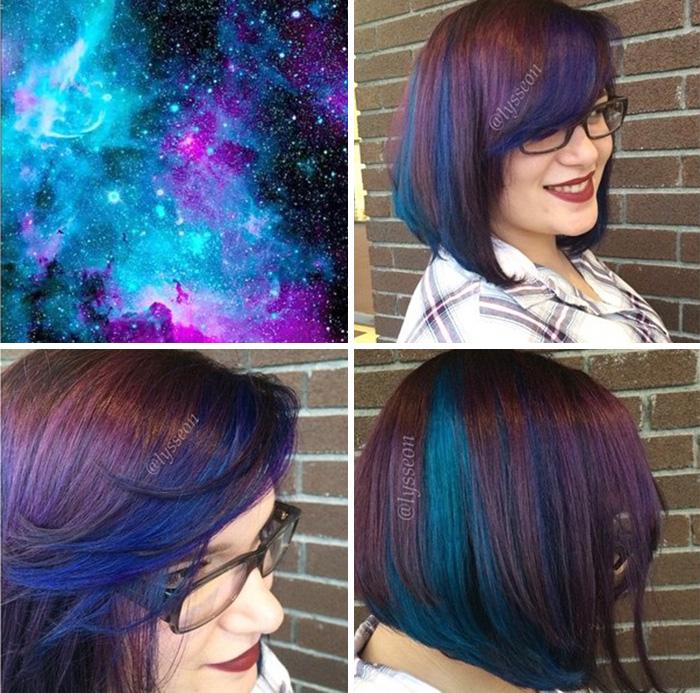 Galaxy Hair
