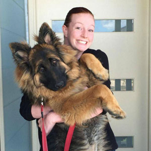 Couple Documents How Fast Their Dog Grows In Just 8 Months