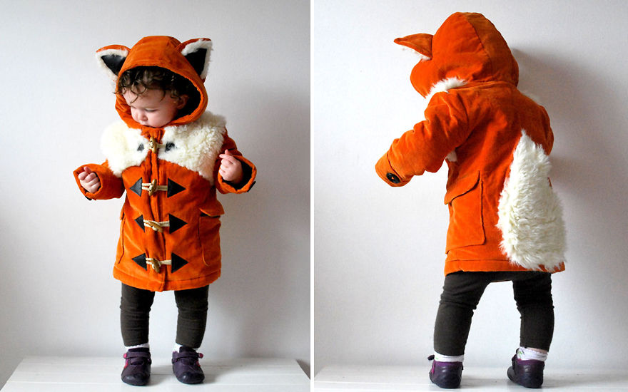 Kids Fox Coat
