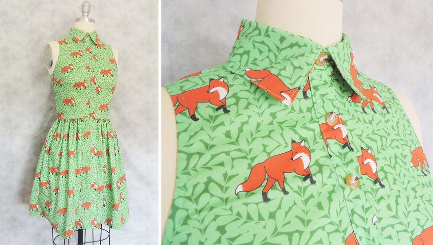 Lady Fox Dress