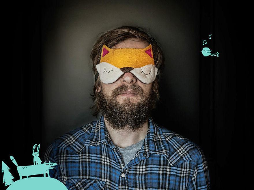 Fox Sleeping Mask