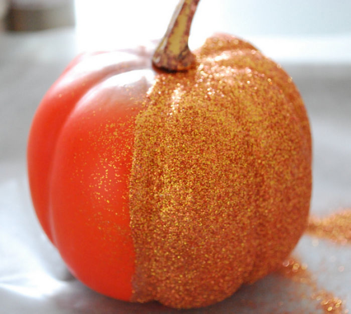 Glitter Pumpkins Expectation