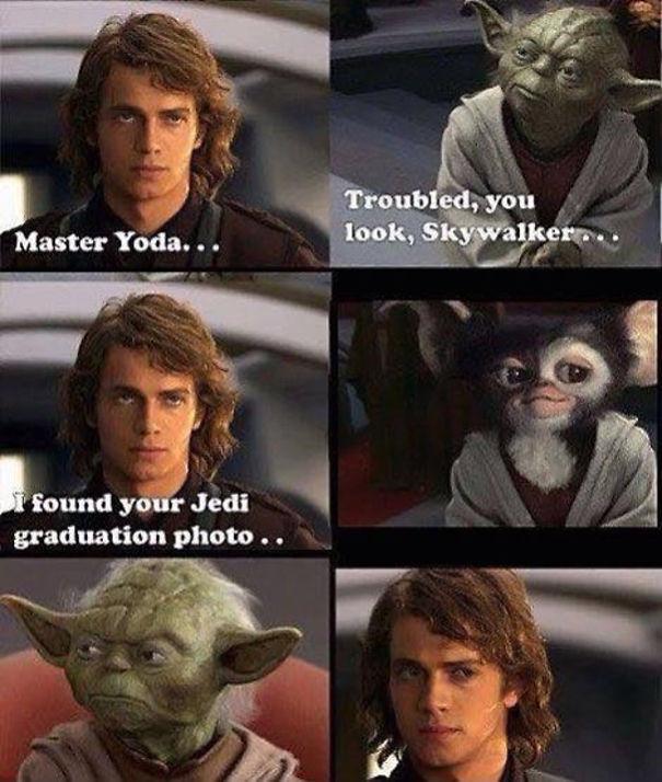 Yoda In High School