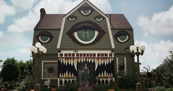 Artist Turns Parents Home Into Haunted House Straight Out Of A