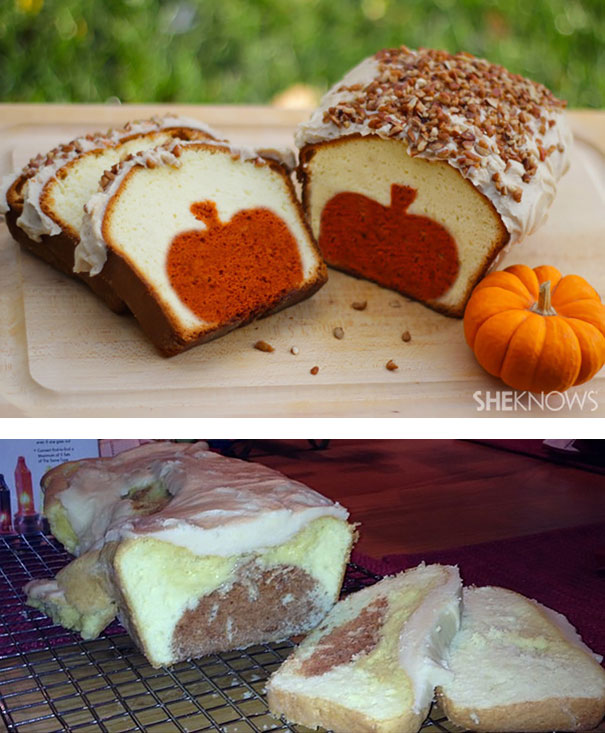 Surprise Pumpkin Pound Cake