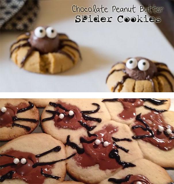 15 spider cookies
