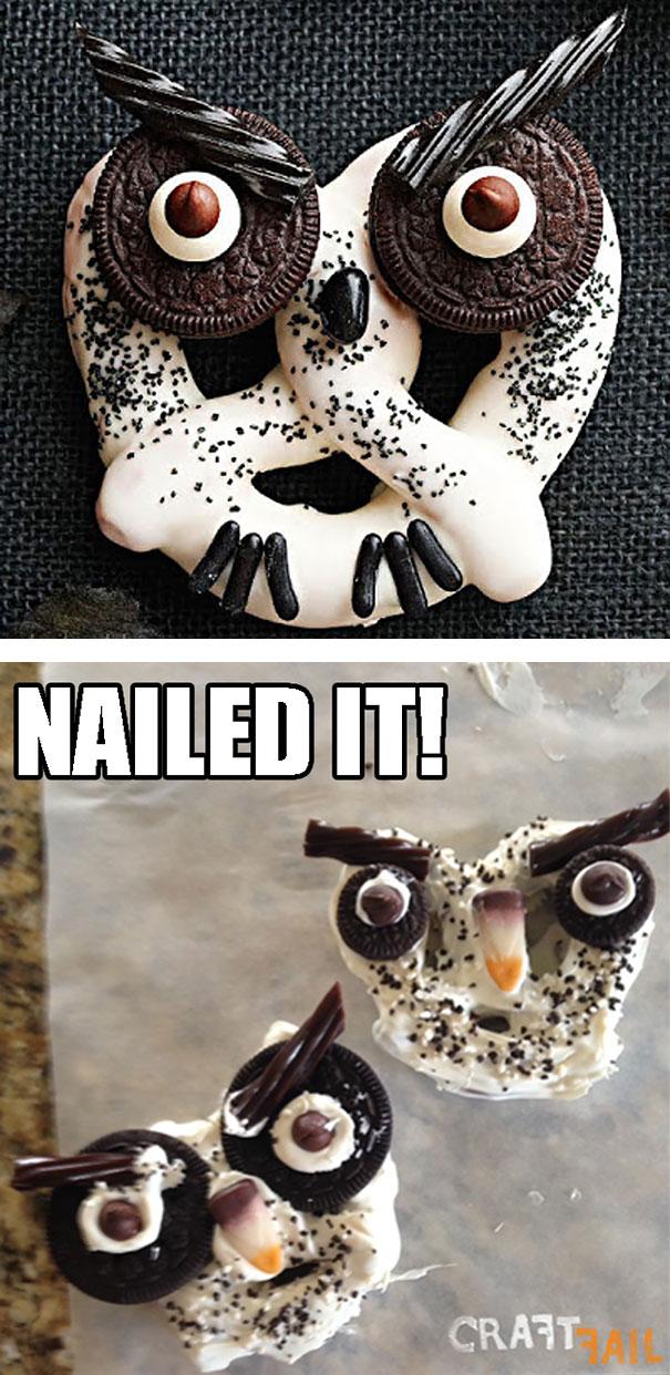 Lumpy Angry Undersized Owl