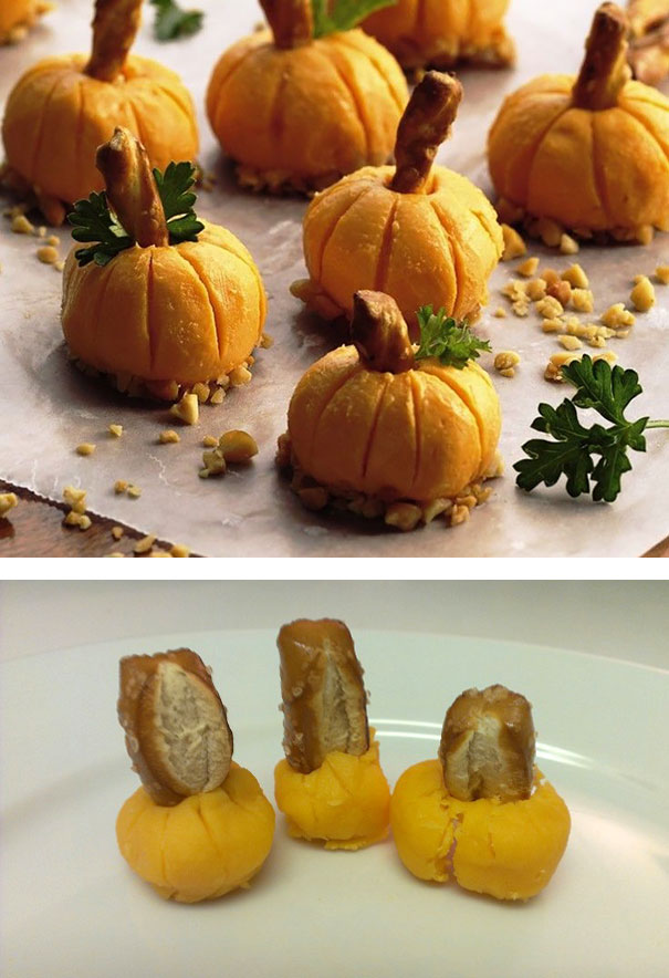 Reanimated Cheese Pumpkins