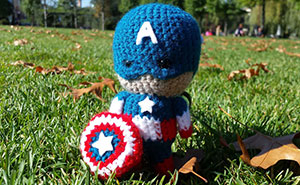 I Crochet Tiny Superheroes And Carry Them With Me So They'd Save My Day