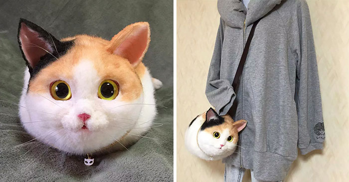Cat Bags Are A New Craze In Japan