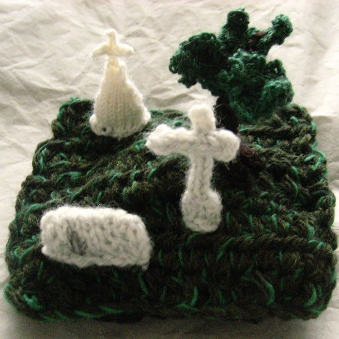 I Knit Wooly Cemeteries, Squirrels Crushed By Ian Curtis's Gravestone, And Vomiting Octopi.
