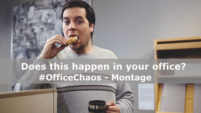 I Made A Funny New Series Of Videos About Office Chaos