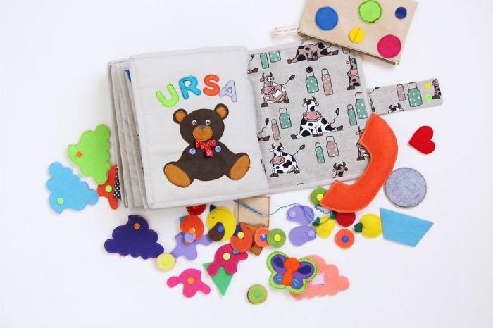 I Make Playful Felt Books For Kids