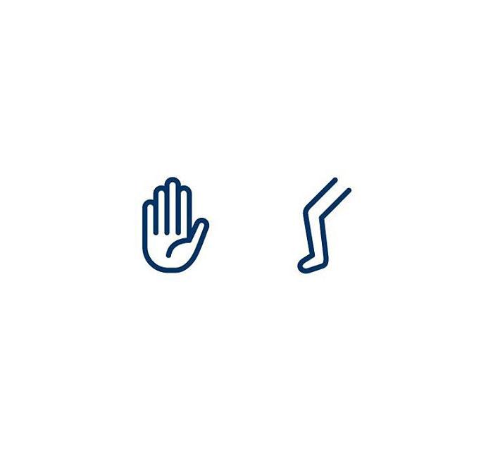 Arm (Handleggur) = Hand + Leg
