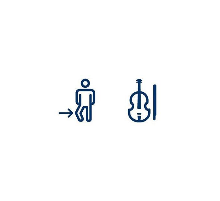 Cello (Knéfiðla) = Knee + Violin