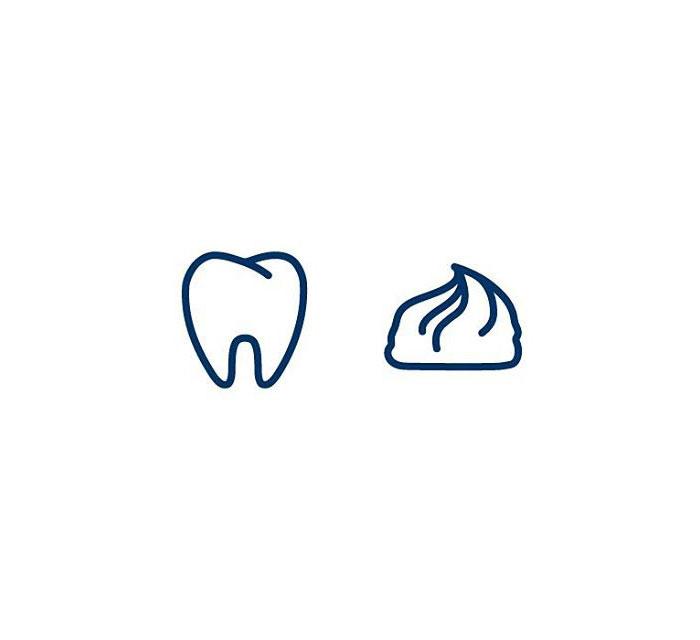 Toothpaste (Tannkrem) = Tooth + Cream