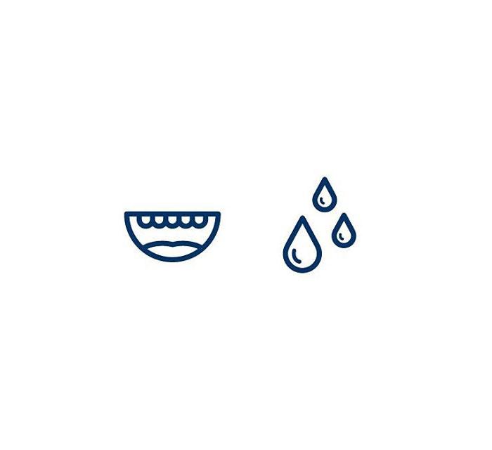 Saliva (Munnvatn) = Mouth + Water
