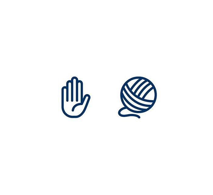 Handshake (Handaband) = Hand + String/yarn