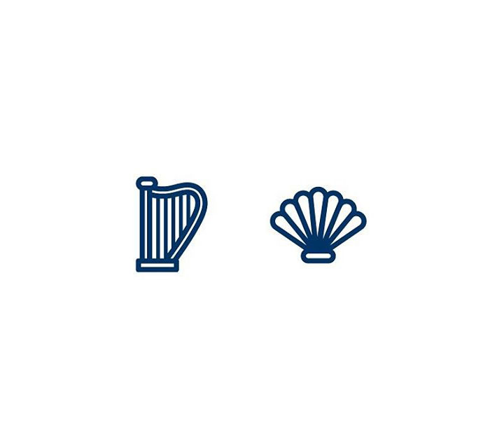 Scallop (Hörpuskel) = Harp + Shell