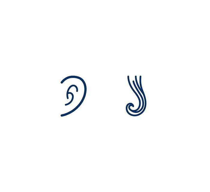 Earring (Eyrnalokkur) = Ear + Curl
