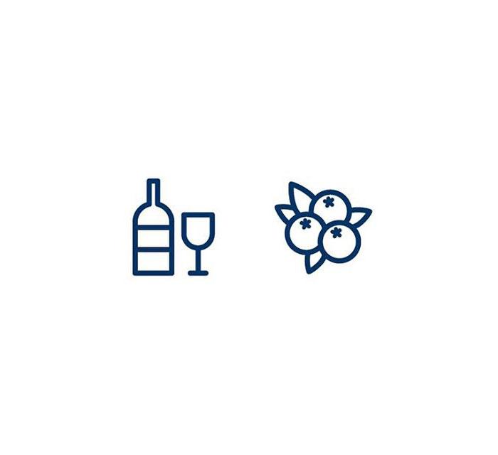 Grape (Vínber) = Wine + Berry