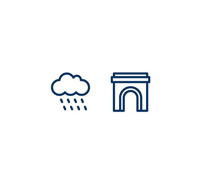 Rainbow (Regnbogi) = Rain + Arch