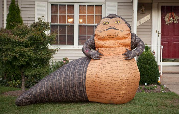 "Inflatable ""Star Wars"" Jabba The Hutt Lawn Ornament"