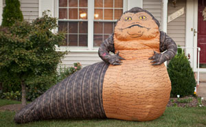 "Inflatable ""Star Wars"" Jabba The Hutt Lawn Ornament"
