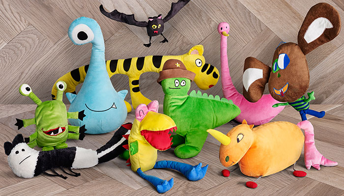 Ikea turned children's drawings into real plush toys to raise ...
