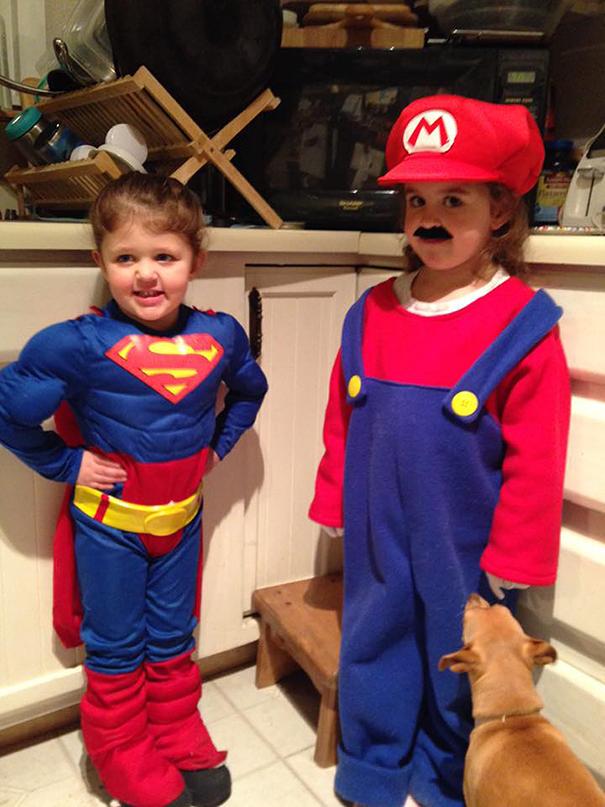 Spider Man And Super Mario