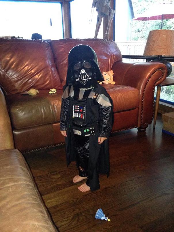 My Daughter's Halloween Costume